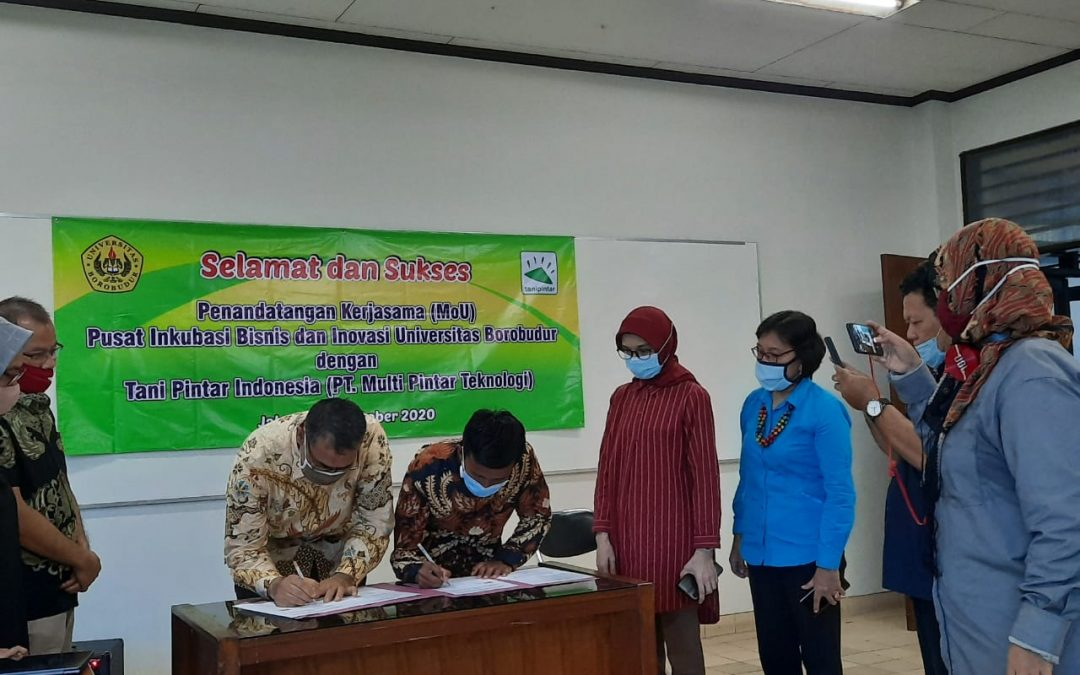 Kontribusi Fakultas Pertanian Pada Kerjasama PIBI Dan PT. Multi Pintar Teknologi (Tani Pintar)
